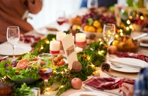 Julbord - traditional Christmas food in Stockholm