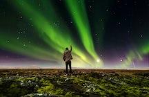 À la poursuite de l'aurore boréale en Islande
