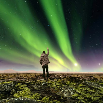 Chasing the Aurora Borealis in Iceland