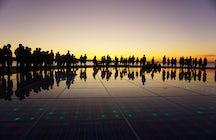 La puesta de sol de Zadar, la favorita de Alfred Hitchock