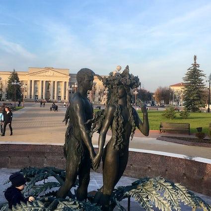 Authentische belarussische Kleinstädte: Molodechno lebt ewig.