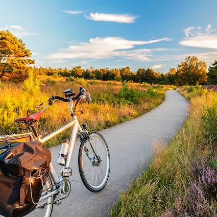 Biking through Belgrade
