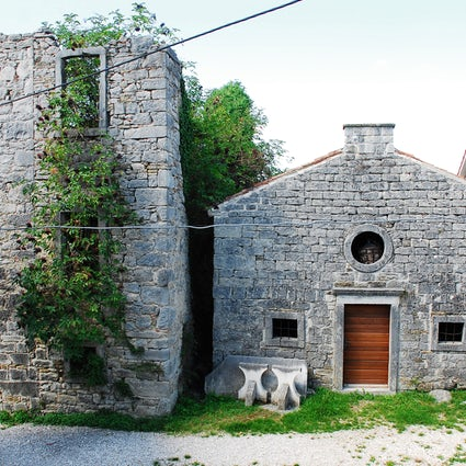 Gračišće, eine verschlafene Stadt im Zentrum Istriens.