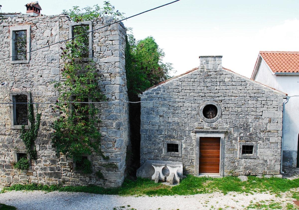 Gračišće, a sleepy town of central Istria