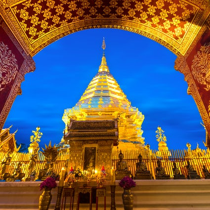 The legendary Doi Suthep Temple of Chiang Mai