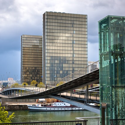 Templo de los libros: Biblioteca François Mitterrand