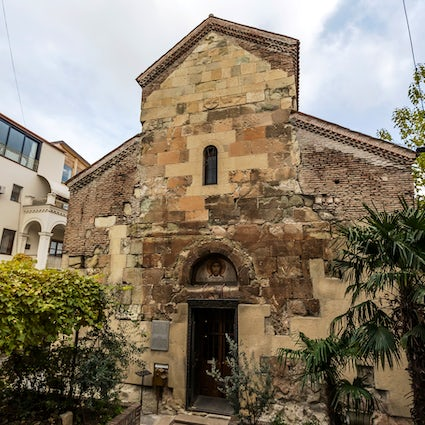 Anchiskhati Basilica - the oldest surviving church in Tbilisi