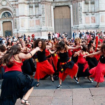 Danzas de Apulia y la noche de la tarántula