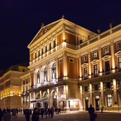 La maison du Concert du Nouvel An à Vienne - Musikverein