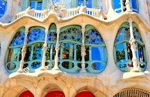 La Barcelone de Gaudi