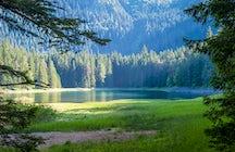 Mountain eyes of Durmitor: Zminje lake