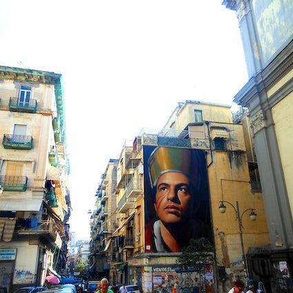 Street Art&Street Food em Nápoles