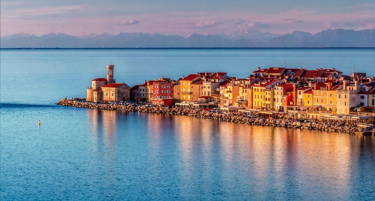 Piran Slovenias colourful coastal town