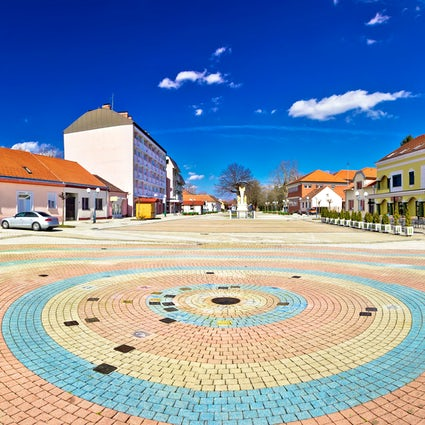Ludbreg - the center of the world is in Croatia