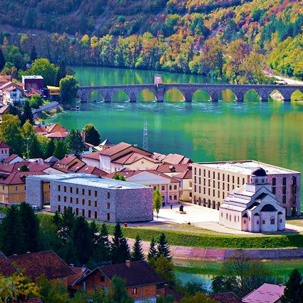 Lovely Višegrad and its 3 masterpieces