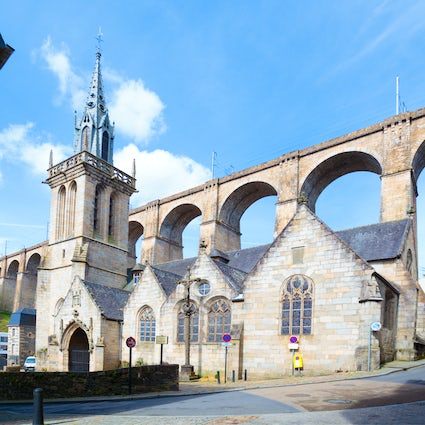 Morlaix – a Breton city with an impressive viaduct
