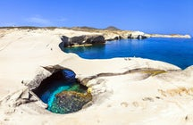 Les îles grecques secrètes ; Milos