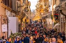 Les meilleures rues commerçantes de Rome