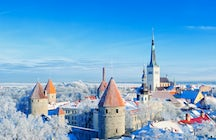 Enjoy winter in magical and snowy Estonia