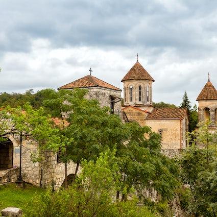 Un espectacular Monasterio de Motsameta