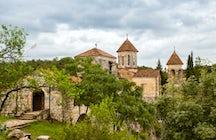 A spectacular Motsameta Monastery