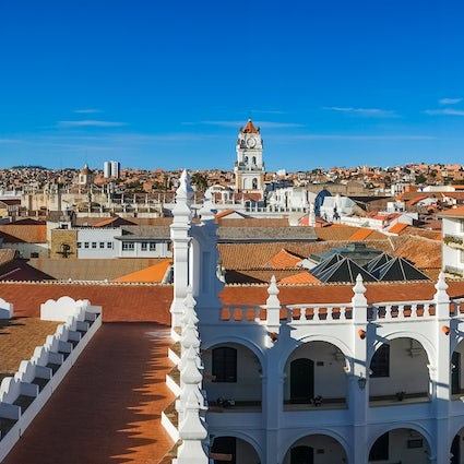 Best viewpoints in Sucre