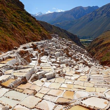 Maras, la mine de sel de l'Inca