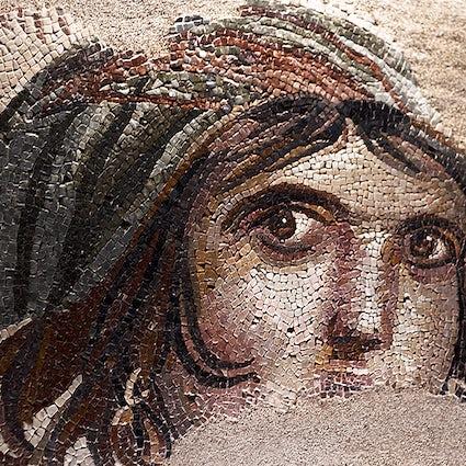 """Gaziantep a través de los ojos de una """"Gypsy Girl"""" de 2300 años."""