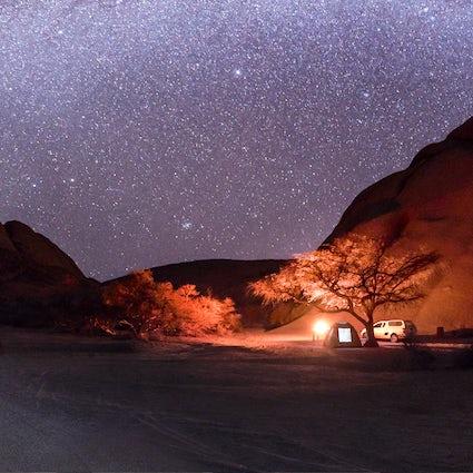 Sternenkästen im Piemont: Schlafen unter den Sternen