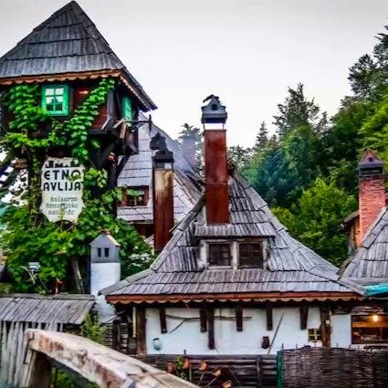 An authentic Bosnian village - Etno avlija Mačkovac