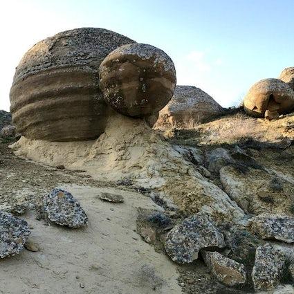 Una parte oscura del Kazakistan occidentale: la Valle delle Palle