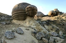 An obscure part of Western Kazakhstan: the Valley of Balls