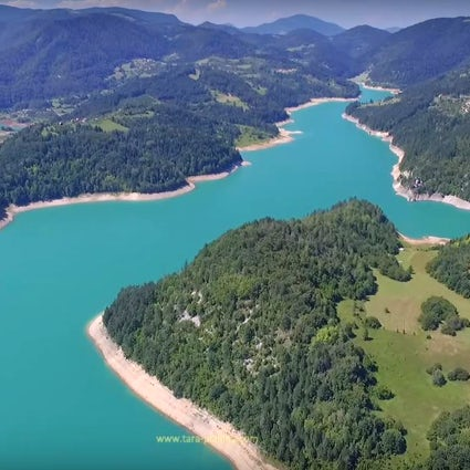 Beste abgelegene Kajakplätze - Zaovine, Beli Rzav und Drina