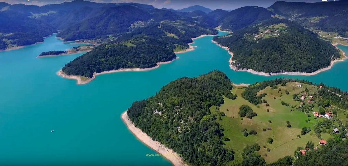 Best remote kayaking spots - Zaovine, Beli Rzav and Drina
