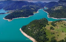 Best remote kayaking spots - Zaovine, Beli Rzav and Drina