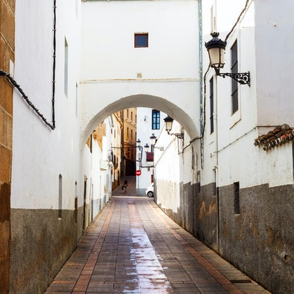 The New Jewish Quarter of Cáceres