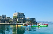 Greek Adventure; Sea Kayaking through the medieval Nafplio