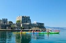 Aventura griega; Kayak de mar por el Nafplio medieval