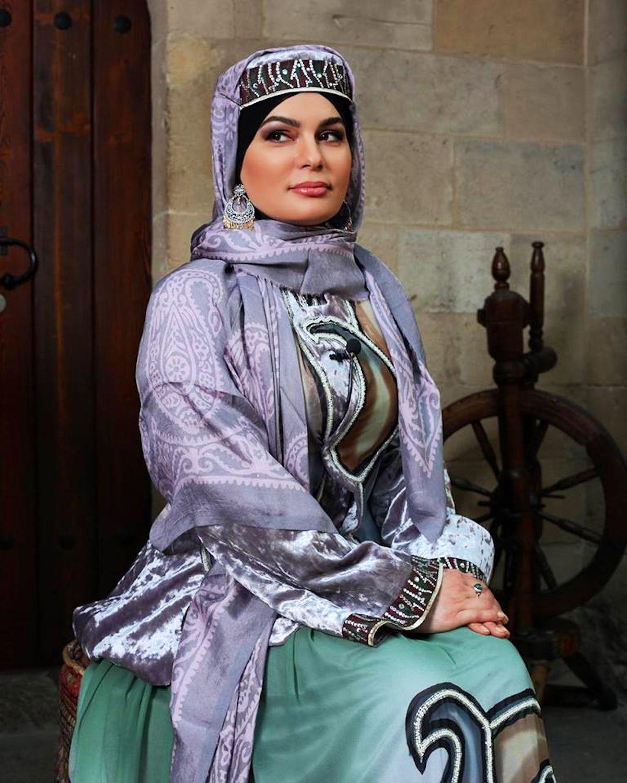 Attribute of Azerbaijani beauty: Kelaghayi