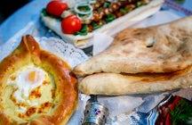 Il cibo georgiano al suo meglio