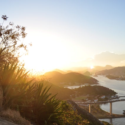 Randonnée sauvage au sommet du Morro do Moreno, Vila Velha