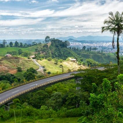 Pereira, de hoofdstad van Colombia's Koffiedriehoek