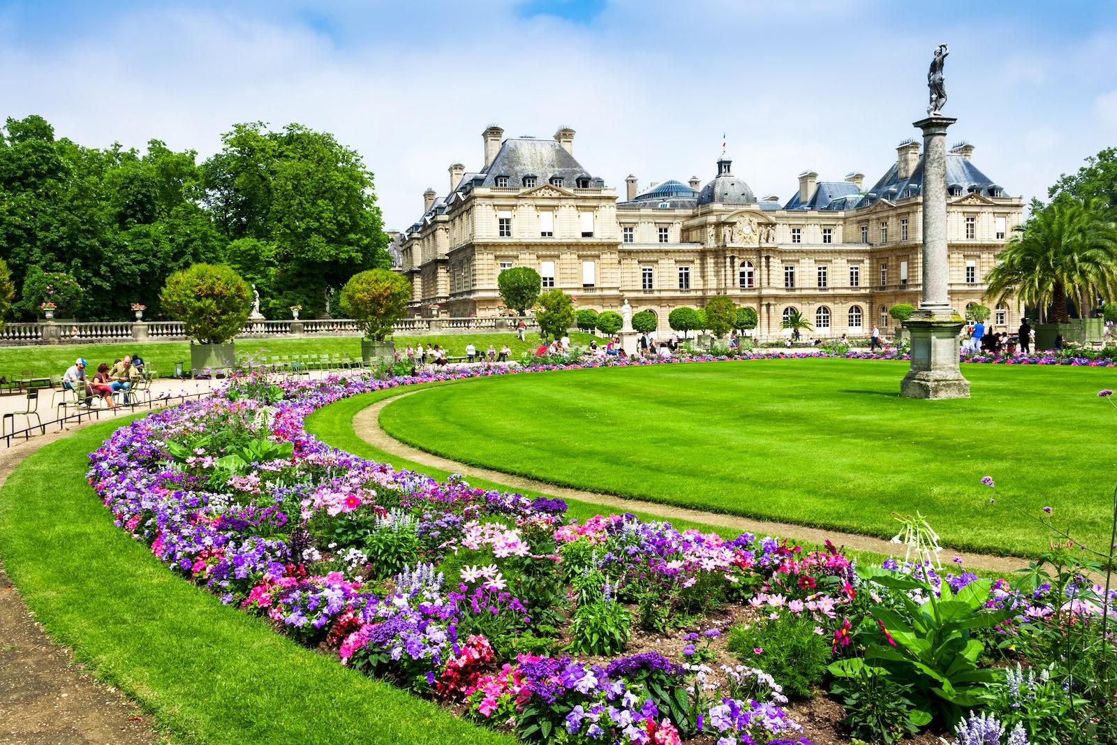 Parks and gardens of Paris: Jardin du Luxembourg