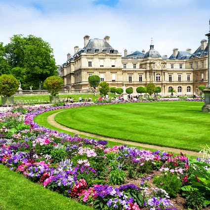 Parks and gardens of Paris: Jardin du Luxembourg