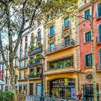 An inspiring view of Barcelona