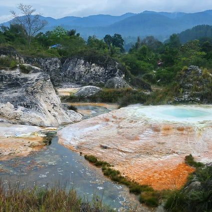 The last chance to see the geysers of Sipoholon in North Sumatra