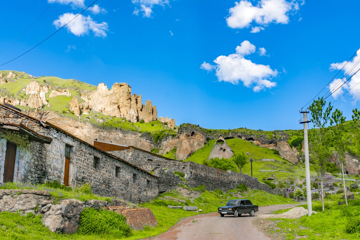 Unique vibes of the city of Goris