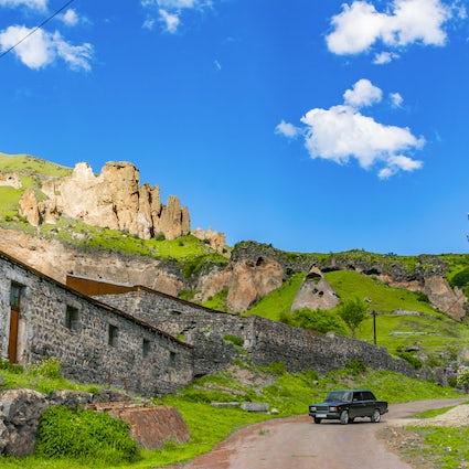 Unique vibes of the city of Goris