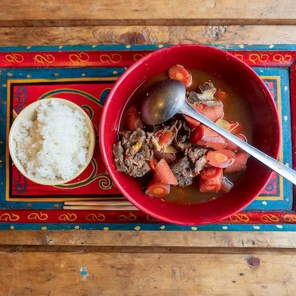 Cocina buryat en Irkutsk, un bocado de auténticos sabores siberianos