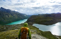 Jotunheimen national park and Norway's biggest mountain